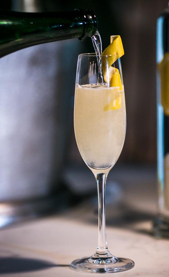 Royal Buddha - Hangar 1 Buddha's Hand Vodka - Champagne Cocktail Recipes for New Years