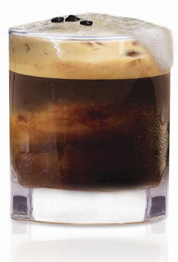 Shakerato - Espresso shooter - Voli Light Vodka - low-calorie cocktails