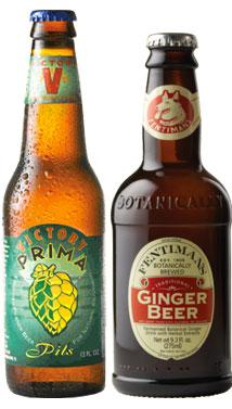 Shandygaff - beer cocktails - Victory Brewing - Prima Pils - Fentimans Ginger Beer