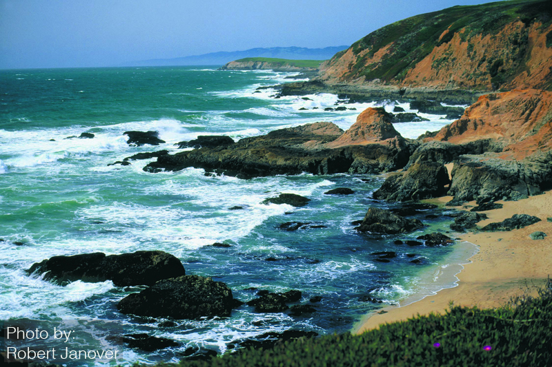 Sonoma County, California coastline