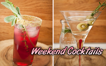 Your Weekend Cocktails - Thanksgiving cocktails