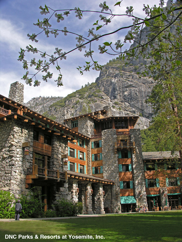 The Ahwahnee Hotel - luxury tourism - glamping - Yosemite National Park - DNC Parks & Resorts at Yosemite - photo by Kenny Karst