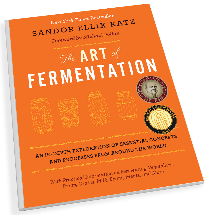 The Art of Fermentation: An In-Depth Exploration of Essential Concepts and Processes from Around the World (Chelsea Green Publishing, $39.95) by Sandor Katz