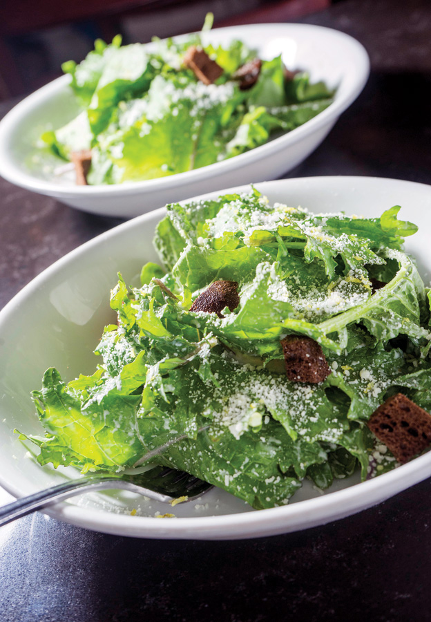 Naples Illustrated's Dining Awards - Best Salad - The Local - Kale Caesar Salad at The Local