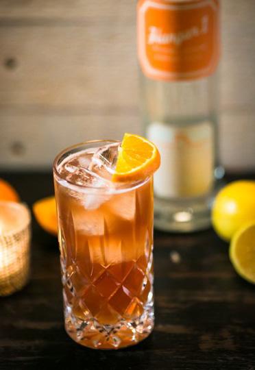 The Touchdown - Super Bowl 50 Cocktail Recipes - Hangar 1 Mandarin Blossom Vodka