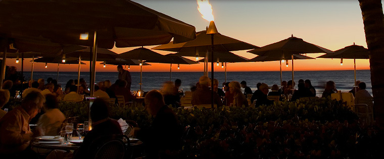 Naples Illustrated's Dining Awards - Best Sunset View - Turtle Club at Vanderbilt Beach Resort - special occasion dining in Naples