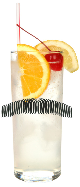 Tom Selleck cocktail - Rock and Rye - Tom Collins