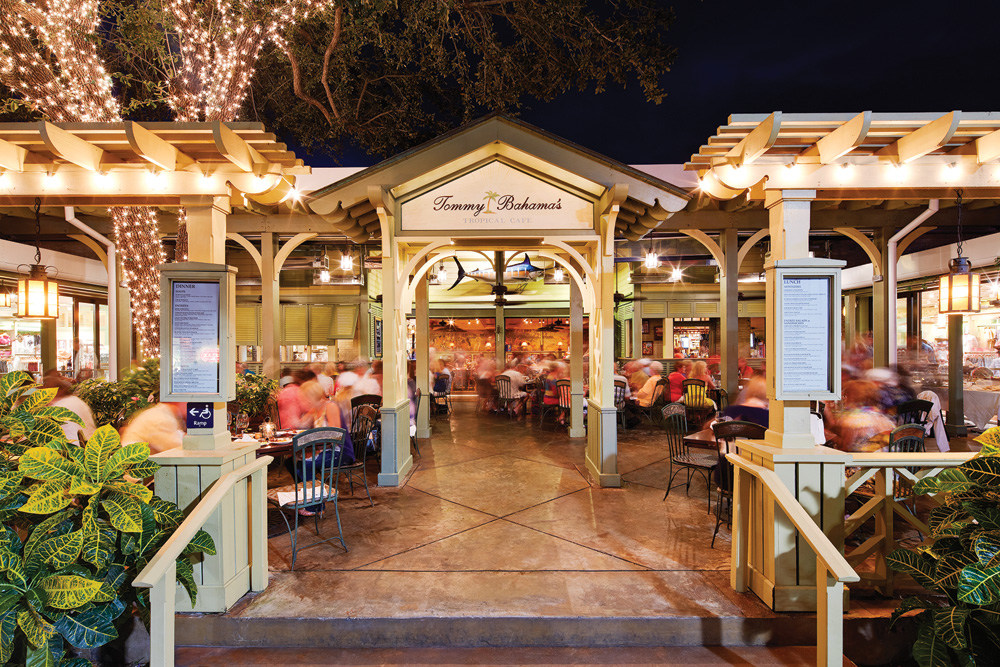Naples Illustrated's Dining Awards - Best Kid-Friendly Dining - Tommy Bahama's fun kids' menu is a hit with families.