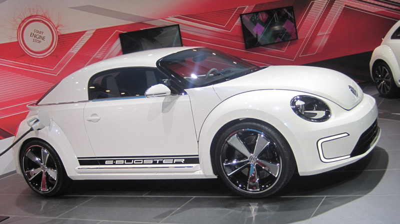 Volkswagen Beetle E-Bugster concept - Howard Walker's Top 10 from the 2012 Detroit Auto Show