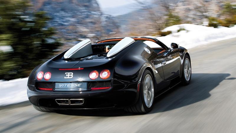 supercar Bugatti Veyron Grand Sport Vitesse coupe - 1,200-hp