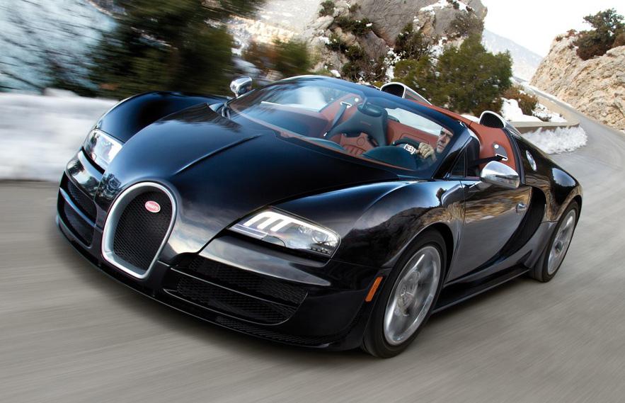 Bugatti Veyron Grand Sport Vitesse coupe - The Wheel World - Howard Walker
