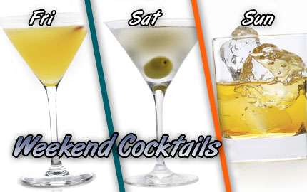 Your Weekend Cocktails - Voli Light Vodka - low-calorie cocktails