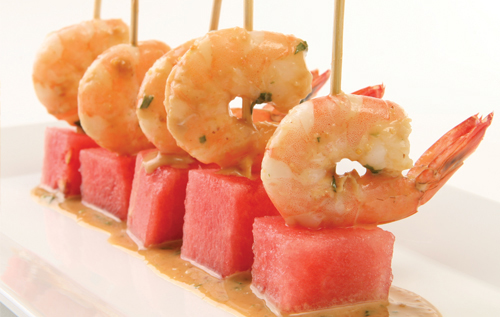 Watermelon and Shrimp Cocktail Skewers - Florida Department of Agriculture and Consumer Services