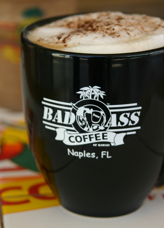 Naples Illustrated's Dining Awards - Best Coffee  - Bad Ass Coffee of Hawaii