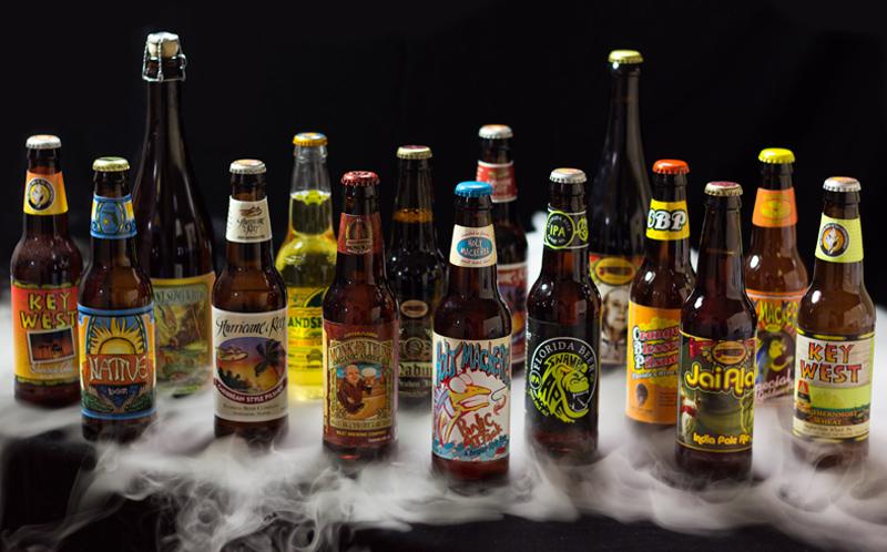 Florida brewed beer