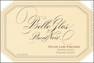 Belle Glos Pinot Noir, Taylor Lane Vineyard