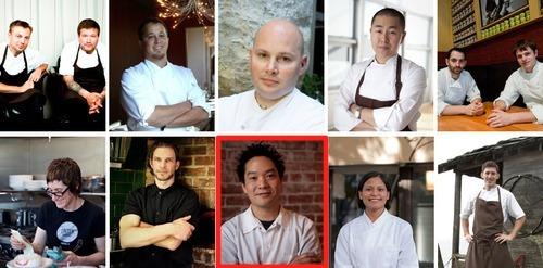 Food & Wine magazine's America's Best New Chefs 2012