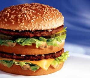 Big Mac from McDonald's