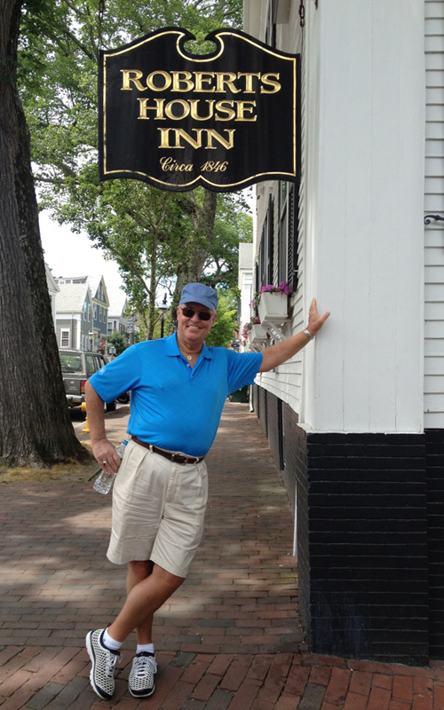 Bob Harden in Osterville, Cape Cod - Paradise Posts