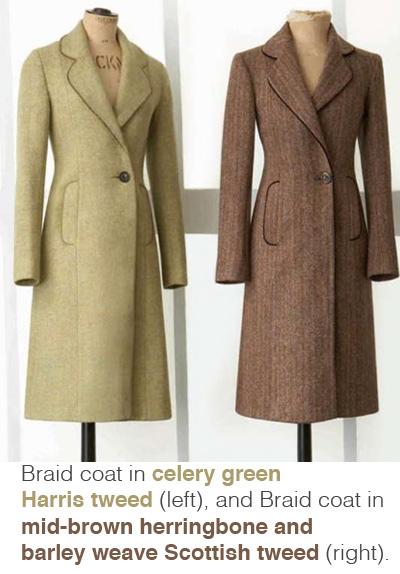 Katherine Hooker - Braid coat - bespoke fashion designer, Kate Middleton