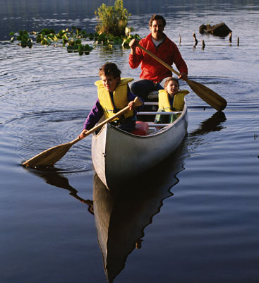 canoeing and kayaking at Collier-Seminole State Park