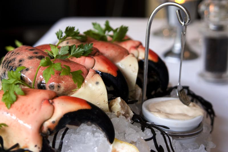 TruLuck's stone crab claws - Naples