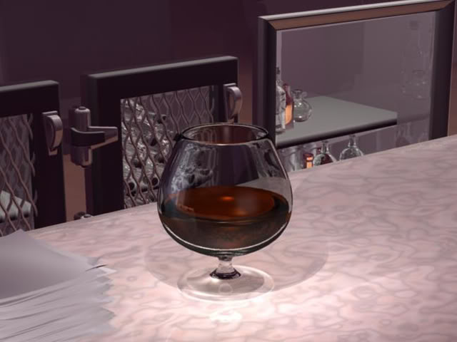 Cognac in snifter