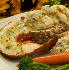 Florida spiny lobster season - recipes - Crab-Stuffed Florida Lobster - from Chef Justin TImineri - Florida Department of Agriculture and Consumer Services