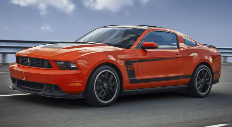 Ford Mustang Boss 302 - Howard Walker
