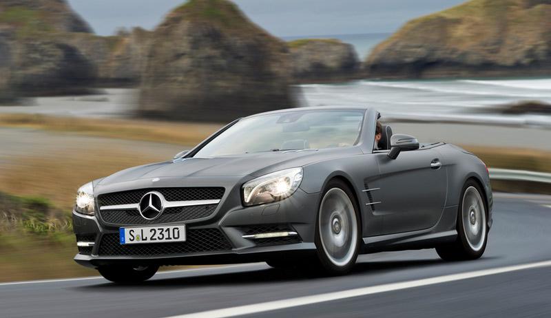 2013 Mercedes SL - convertible two-seater - The Wheel World blog - Howard Walker