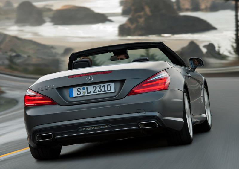 2013 Merc SL - luxury convetible sports car - The Wheel World blog