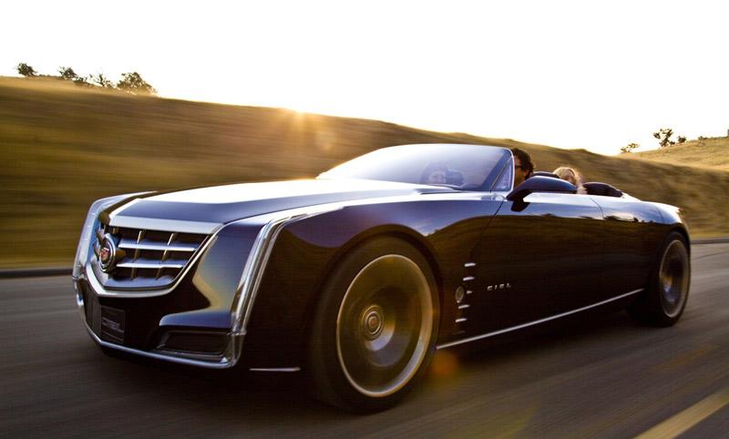 Cadillac Ciel concept convertible - Pebble Beach Concours d'Elegance