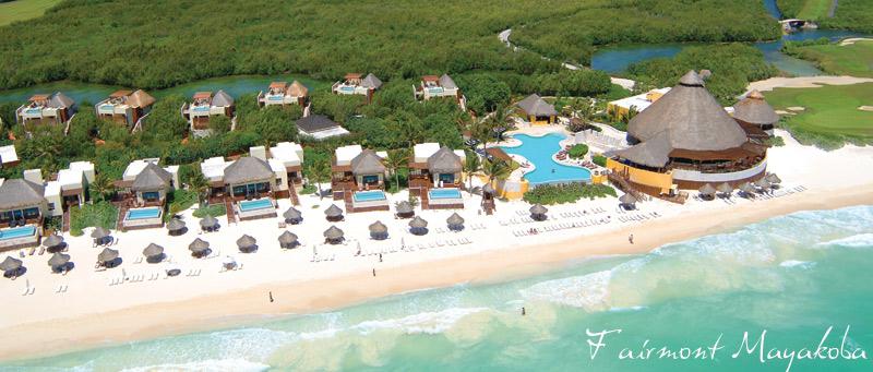 Fairmont Mayakoba - Mexico's luxury resorts alon the Mayan Peninsula