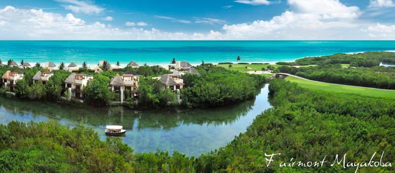 Fairmont Mayakoba - Mayan Riviera - river cruise, mornign bird watching