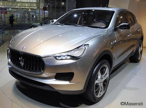 Maserati luxury SUV, Kubang - The Wheel World