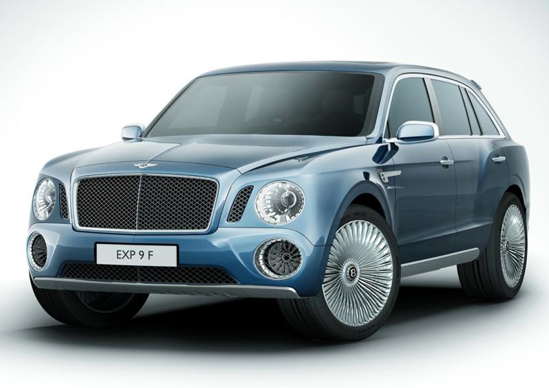 Bentley EXP 9 F SUV - not their best effort