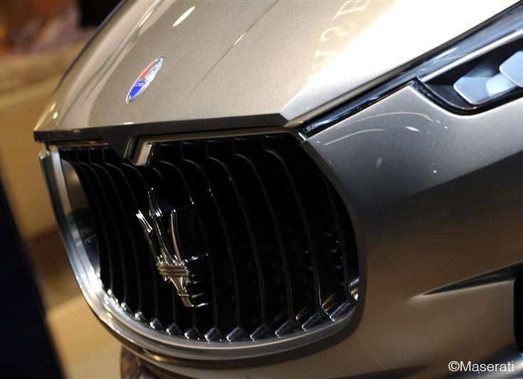 Maserati Kubang - grill - Chrysler and Fiat - automotive editor Howard Walker