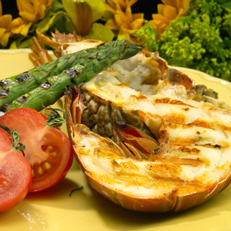 Grilled Lobster - from Chef Justin TImineri - Florida Department of Agriculture and Consumer Services