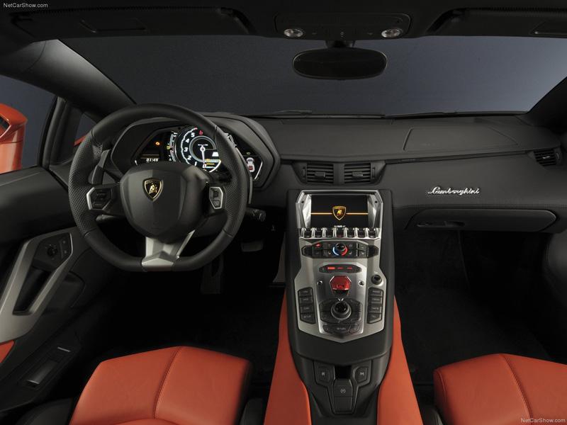 Interior - Lamborghini Aventador LP700-4