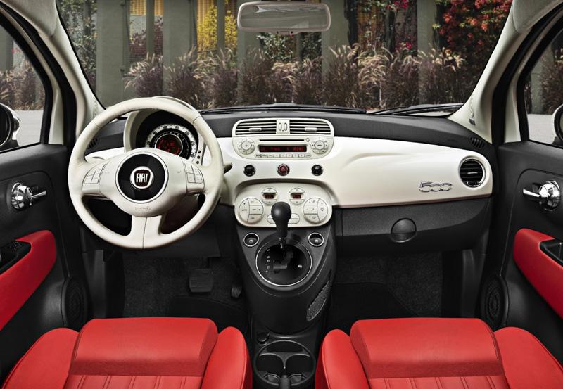 Fiat 500 interior - Howard Walker