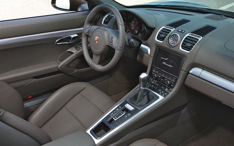 2013 Porsche Boxster roadster - new interior with raised center consul  - The Wheel World
