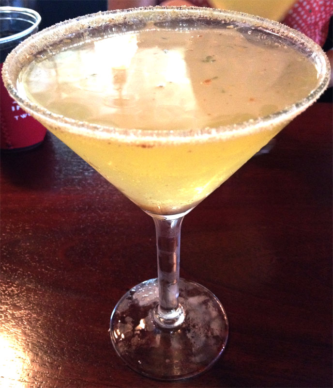 Key Lime Pie Martini - White Tarpon - Key West local spots