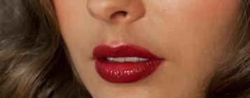 Giorgio Armani Beauty - fall fashion season, bold lip and smoky eye - celebruty face artist Tim Quinn