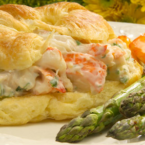 Florida Lobster Season - recipes - Lobster Roll - from Chef Justin TImineri - Florida Department of Agriculture and Consumer Services