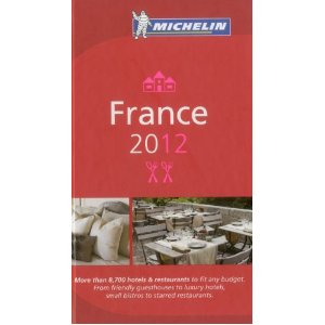 The 2012 Michelin Guide to France