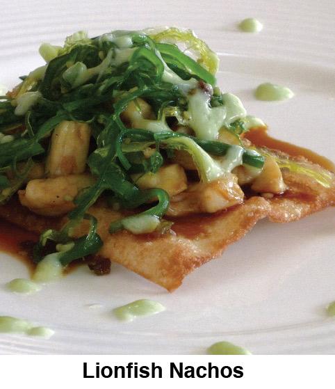 Lionfish Nachos - The Lionfish Cookbook