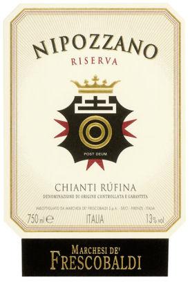 Nipozzano Riserva Chianti from Fescobaldi