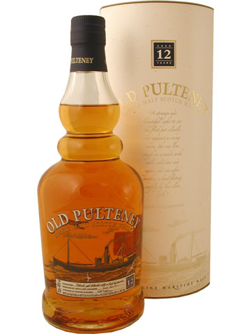 Old Pulteney 12 year-Old---the