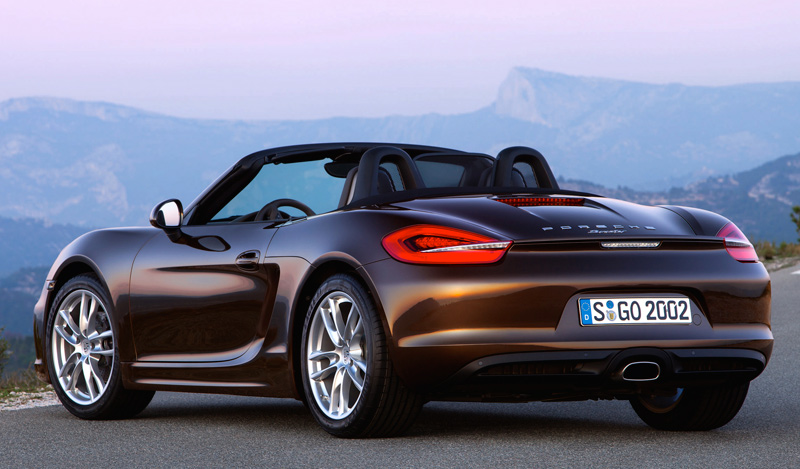 2013 Porsche Boxster - luxury sports car - The Wheel World with Howard Walker