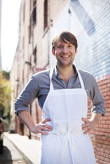 Chef Rene Redzepi from Noma Rstaurant in Copenhagen